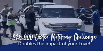 $25,000 Easter Matching Challenge